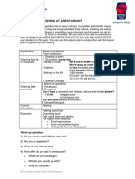 Food and Ordering at a restaurant.pdf
