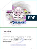 Ch 2 Cost Concepts and Behavior
