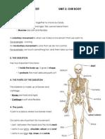 Study sheet unit 3-science
