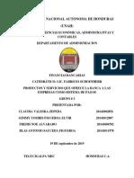 Informe Final de Finanzas