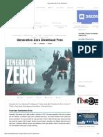 generation zero (game)