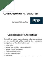 Comparision of Alternatives