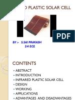Infrared Plastic Solar Cell-1