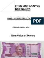 Lec 1 Time Value of Money