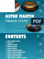 ASTON MARTIN VIRAGE COUPE PROJECT,FIT ,CLASS 9TH,ROLL NO-34.pptx