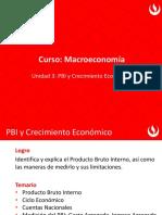 Macro Nueva U3 PBI y Crecimiento Económico