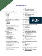 AMFI Sample 500 Questions