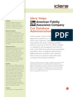 Idera Helps American Fidelity Assurance Cut Database Administration Time by 50 Percent