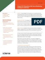 Chaucer PLC Streamlines SQL Server Monitoring