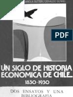 Historia Económica de Chile entre 1830 y 1930
