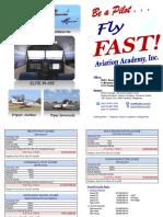 FAST Aviation Academy - Pricelist - Peso