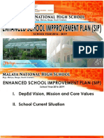 Malaya NHS School Improvement Plan 2016-2019.docx