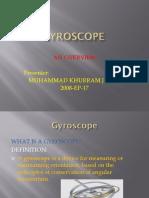 Gyroscopes 3