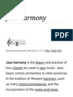 Jazz Harmony - Wikipedia