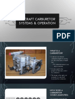 Aircraft Carburetors