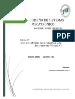 Practica 3 De Laboratorio De Diseño De Sistemas Mecatronicos