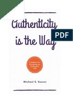 AuthenticityistheWay-MichaelSSeaver-1