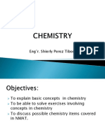 2018 UPlink NMAT Review Chemistry 1 Lecture - Tibon