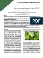 Pharmacognostical and Phytochemical Studies of Piper Betle Linn Leaf