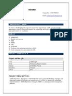 Resume Vaishali 1