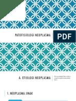 Patofisiologi Neoplasma