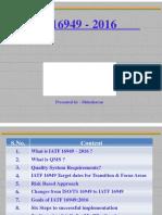 IATF Requirements Training