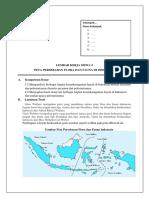Lks Peta Persebaran Flora Dan Fauna