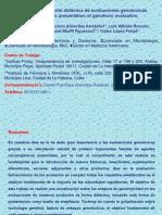 Evaluaciones genotox sertox