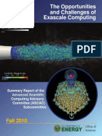 Exascale Computing Report