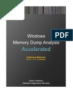 Accelerated Windows Memory Dump Analysis Versions 1 2 3 AddOn