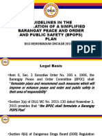 Guidelines in the Formulation of a Simplified Barangay POPS PLAN(2)