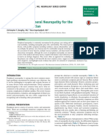 Approach to Peripheral Neuropathy for Primary Care Clinician