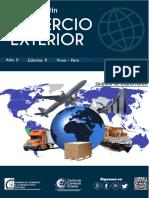 Boletín Comercio Exterior Exportaciones 2019