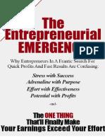 The Entrepreneurial Emergency