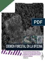 crimen forestal