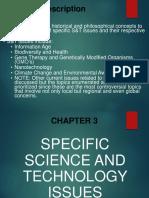 Chapter 3 Unit 1 STS Courseware