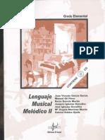 Lenguaje Musical Melódico 2