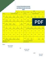 2019 2020 Class Schedule Version1.0