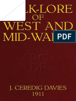 Folk-Lore of West and Mid-Wales by Jonathan Ceredig Davies