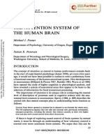 THE ATTENTION SYSTEM OF THE HUMAN BRAIN