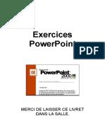 PowerPoint 2000 - Livret d'Exercices
