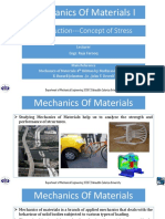 Chapter 1 of mechanics and material