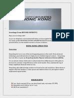 Hong Kong VIsa Process Details