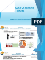Exposicion Devengado vs Credito Fiscal