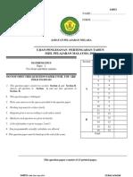SPM Mid Year 2008 Melaka Maths Paper 2