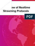 Overview of Realtime Streaming Protocols