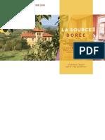 Dossier de  Presse La Source Dorée 2019