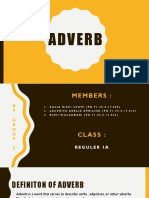 Adverb (Group 5)