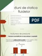 statica fluidelor