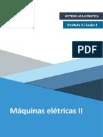 Roteiro Aula Pratica - Maquinas Elétricas II